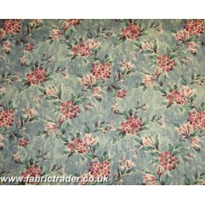 Sprig in Blue (Near Turquoise) Antique Rose
