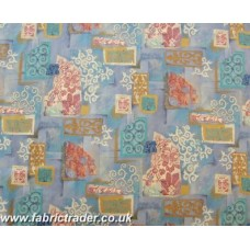 Alhambra/print in Multi Pastel mix