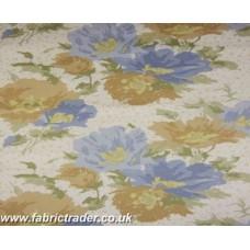 Bloombury in Pastels Blue - beige
